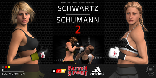 Anna Schwartz vs. Alesia Schumann 2 announced! by alesiaboxing