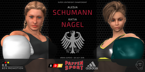 German championship announced! by alesiaboxing