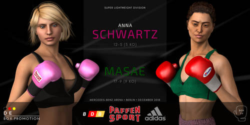 Anna Schwartz to face Masae in Berlin! by alesiaboxing
