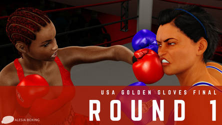 Mercedes Carter at the Golden Gloves: Round 1 by alesiaboxing