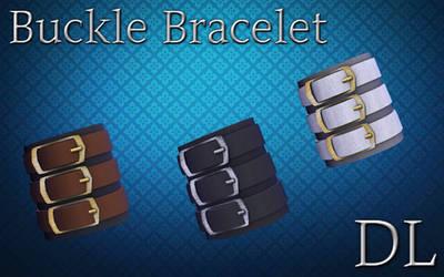 MMD Buckle Bracelet DL by NiShiGara