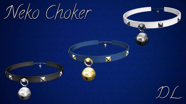 MMD Neko Choker DL