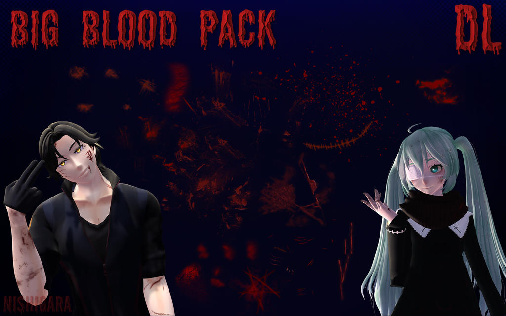 Mmd Big Blood Texture Pack Dl By Nishigara On Deviantart