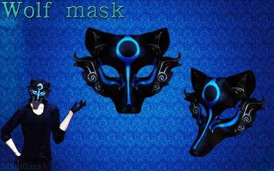 MMD Wolf Mask DL by NiShiGara