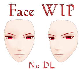 MMD Face WIP