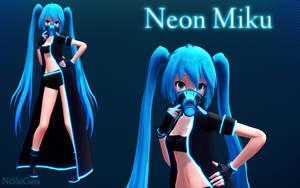 MMD Neon Miku DL by NiShiGara