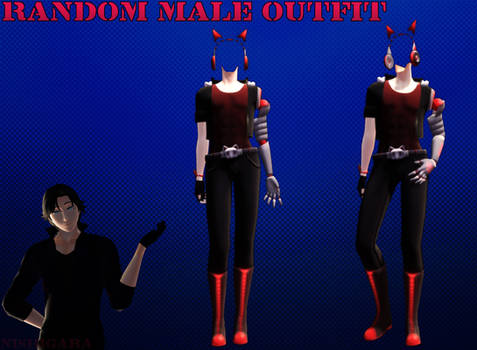 MMD Random male outfit DL