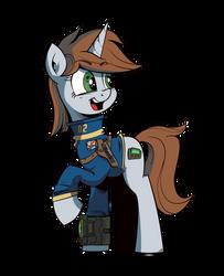 Fallout Equestria -  Littlepip by IIapIIIuBbIu