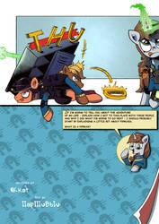 Title page - comics FOE