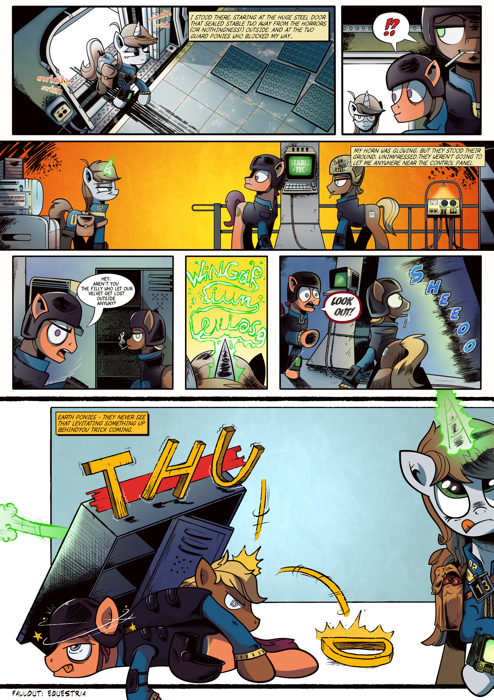 Chapter One - comics FOE - seventh page