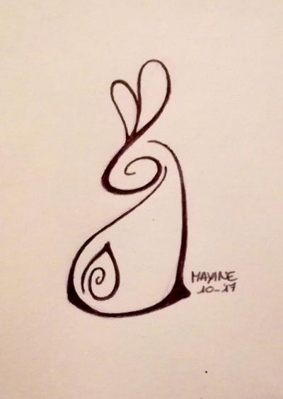 Day 25 Small Bunny Tattoo Idea By Maxfeathers On Deviantart