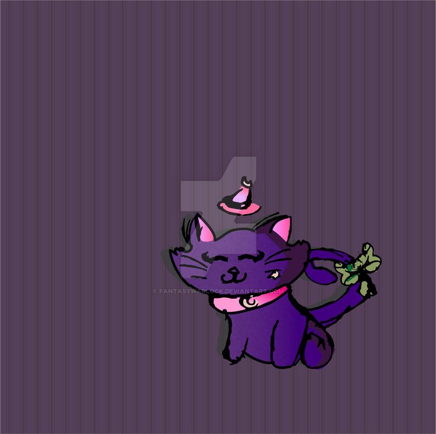 Magical Cat by FantasyWarlock