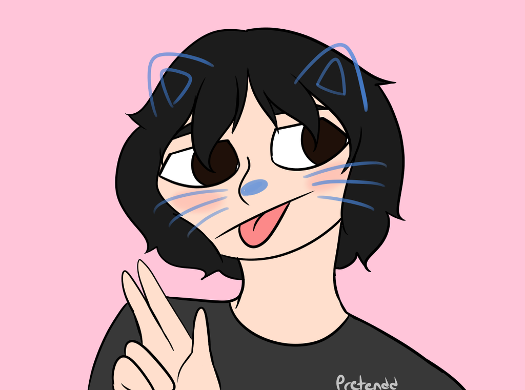 lil meow meow by JustPlayPretendd