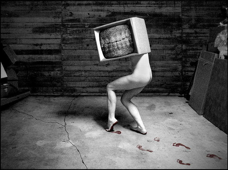 Box Head by Autopsyrotica-Art