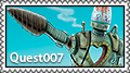 Quest007 stamp II by Autopsyrotica-Art