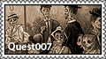 Quest007 stamp III by Autopsyrotica-Art