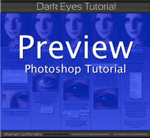 Dark Eyes Tutorial by Autopsyrotica-Art