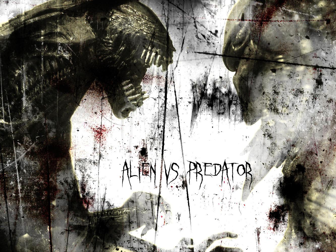 Alien Vs Predator by Autopsyrotica-Art