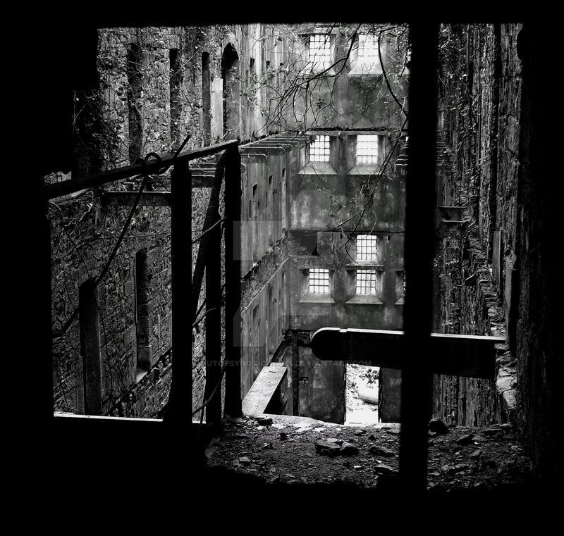Bodmin Gaol by Autopsyrotica-Art