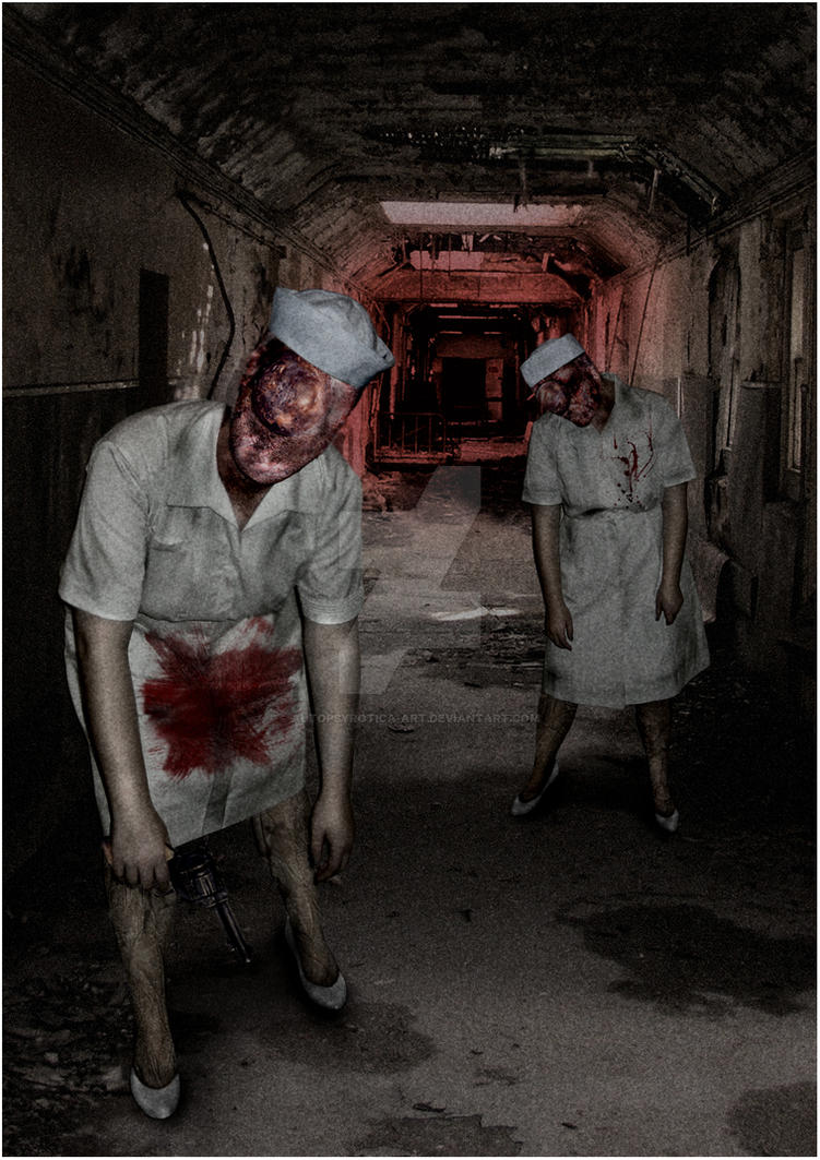 Silent Hill 2 Nurses By Autopsyrotica Art On Deviantart