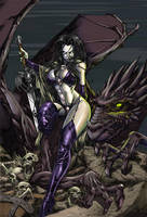 Lady Death CG by Jats