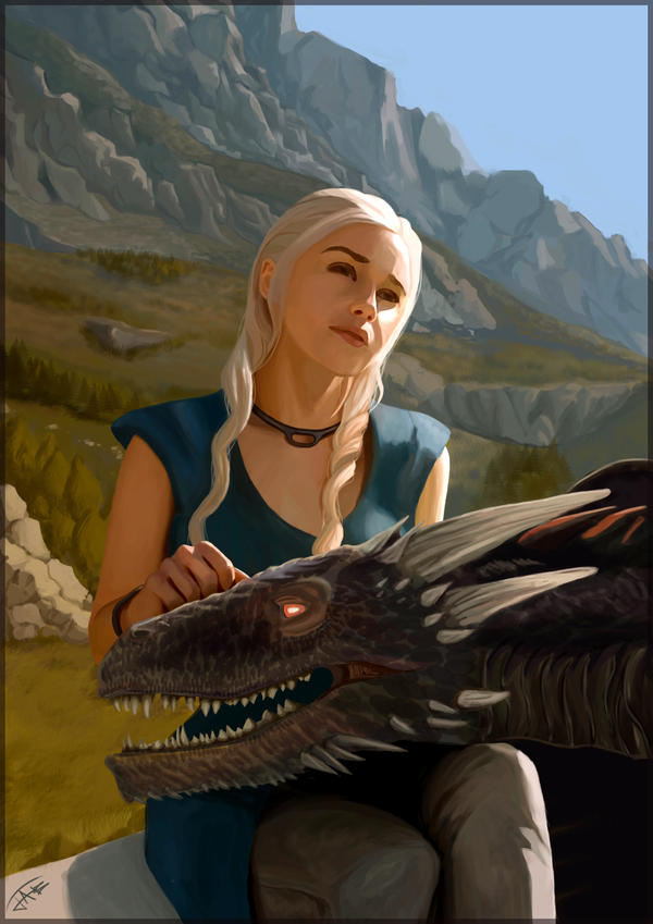 Queen of Dragons by Jats