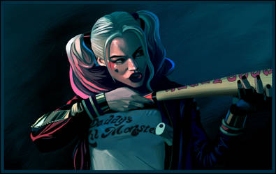 Harley Quinn - Suicide Squad by Jats
