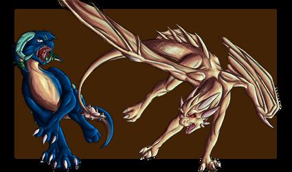Dusk vs Nero by ThePsychoDragon
