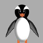 Penguin Pixel by Zatarian