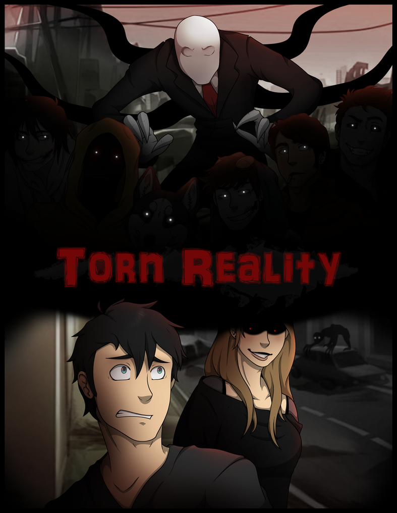 Torn Reality Comic Cover By Proxycomics On Deviantart