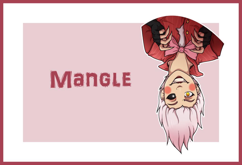 Mangle by proxycomics on deviantart
