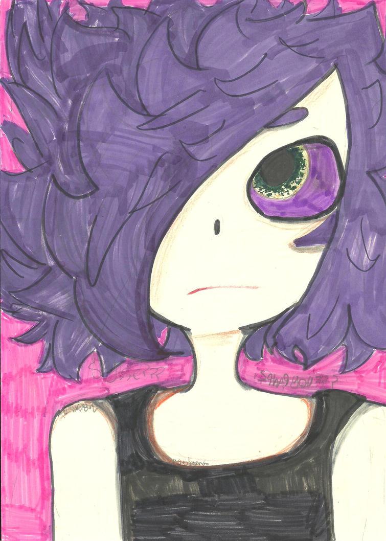 i drew a urchin by VaporwaveGal