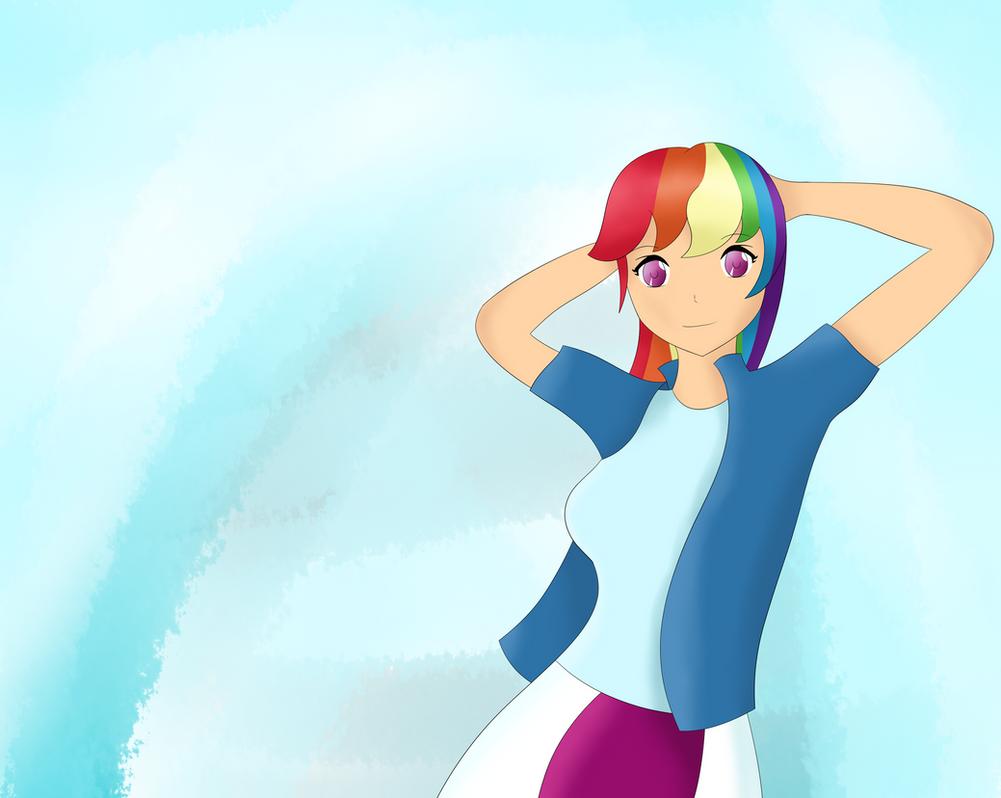 Rainbow Dash by sentaikick
