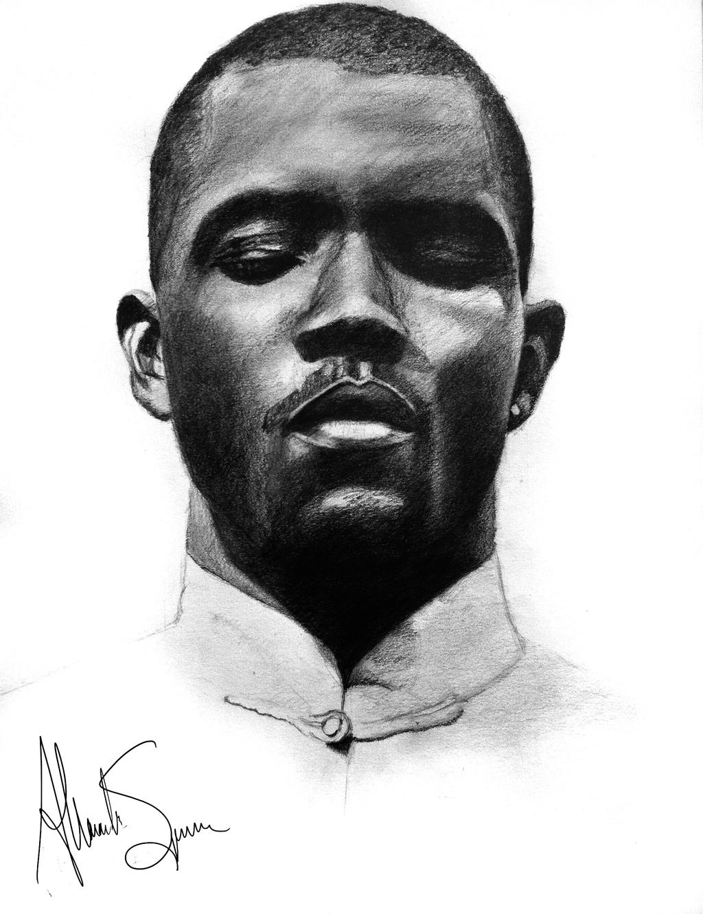Frank Ocean Portrait by AlexanderSpencer