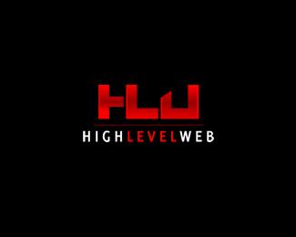 highlevelweb logo by blue2x