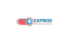 express medicine logo by blue2x