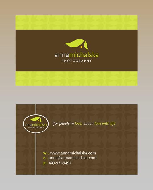 anna michalska business card by blue2x