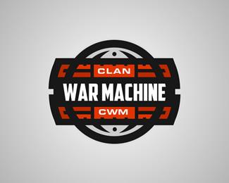 Clan War Machine Logo