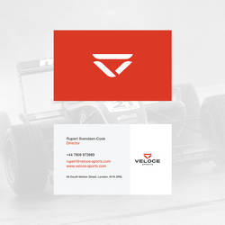 Veloce Sports Business Card by blue2x