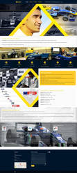 Tarun Reddy Website by blue2x