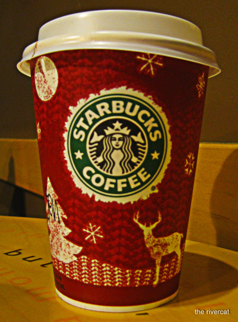 Starbucks Christmas cup '08 by nikorio on DeviantArt