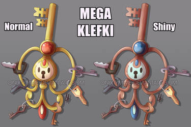 Mega Klefki by OnixTymime