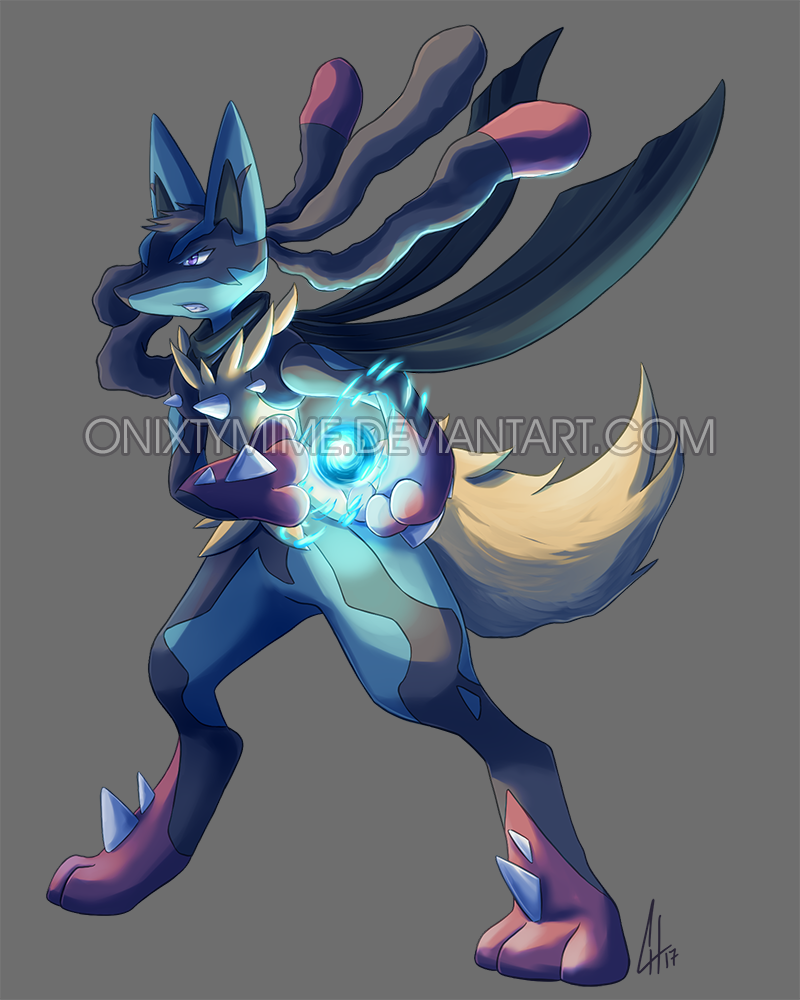 Shiny Lucario Aura Sphere Wallpaper Download