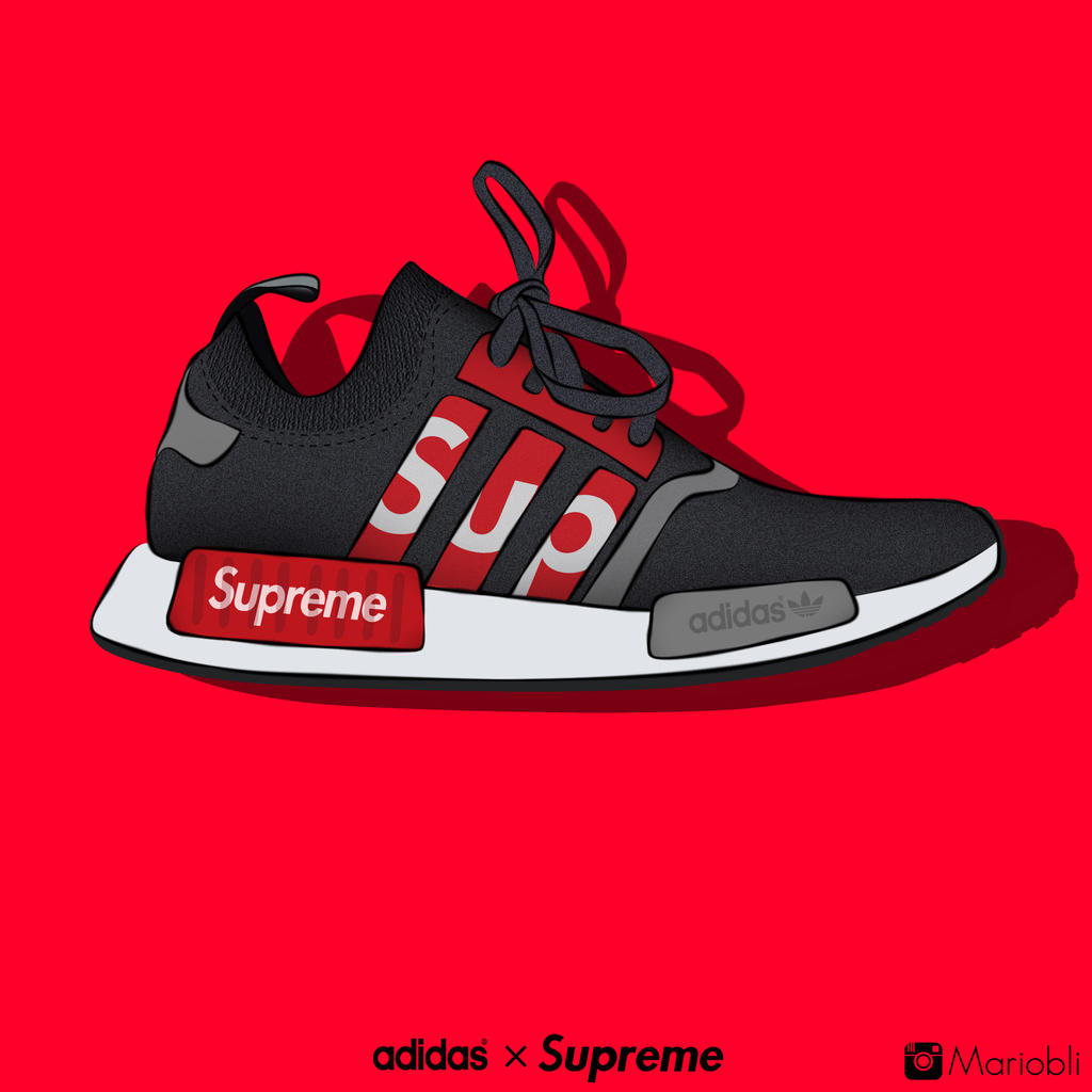 Adidas x Supreme by MarioBli on DeviantArt