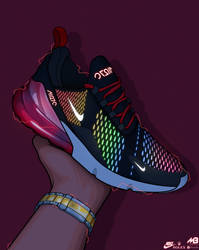 Nike Air Max 270 Chroma Led     Artwork By Me by MarioBli