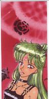 Princess Pluto Bookmark by masaothedog