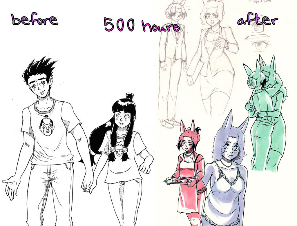 500 hours by masaothedog