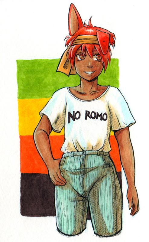 No romo by masaothedog