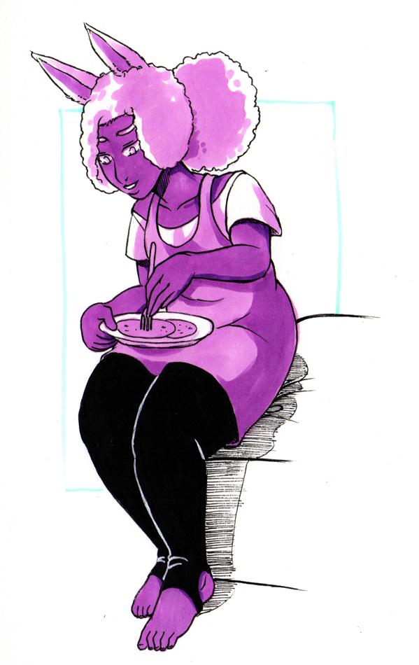 Purple Mredudd by masaothedog