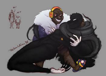 Black Sheep (Sketch) by TheScarletCrow